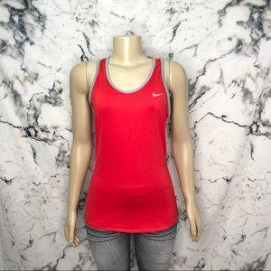 Nike Dri-Fit Tank Top Red & Grey